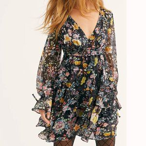 Free People Closer To The Heart Floral Dress